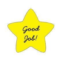 Lady G Boutique Reward Stickers Good Job Kids English