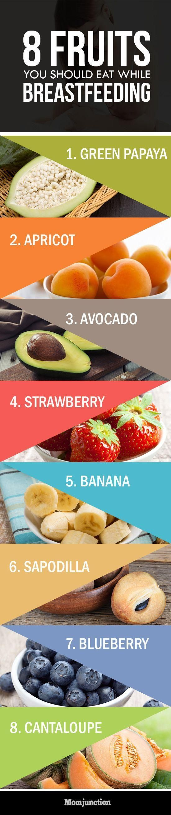 8 Best Fruits You Should Eat While Breastfeeding ...