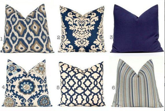 Outstanding Decorative Pillow Covers Navy Blue Pillow Covers Throw Ncnpc Chair Design For Home Ncnpcorg