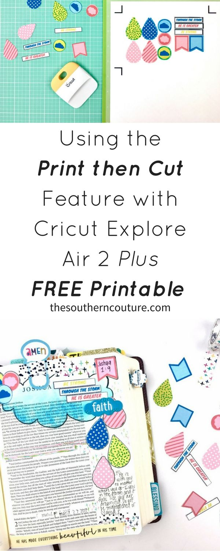 Pin on Print then Cut Cricut Projects