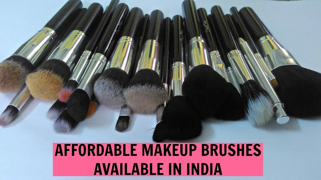 Best Affordable Makeup Brushes in India BS Mall Brush