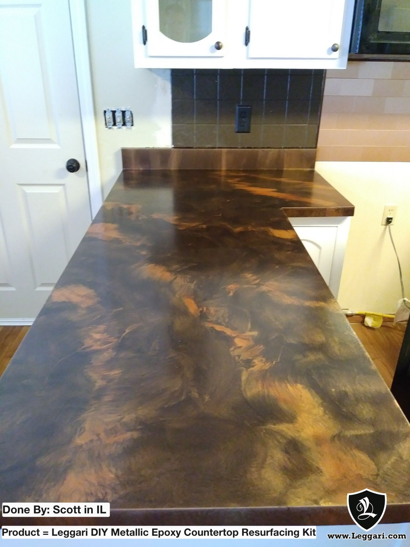 Epoxy Countertops Scott S Counters Turned Out So Good Check Out