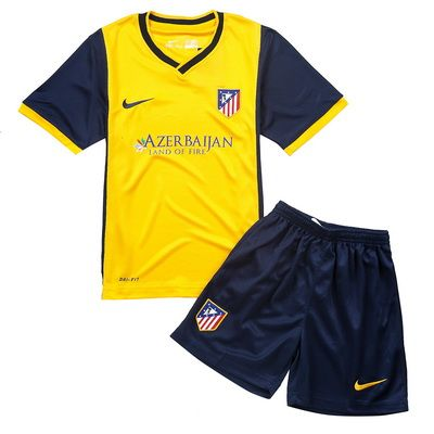 Camisetas Atletico Madrid Ninos 2013 2014 Segunda Equipacion Http Www Camisetascopadomundo2014 Com Madrid Niños Atletico De Madrid Atletico Madrid