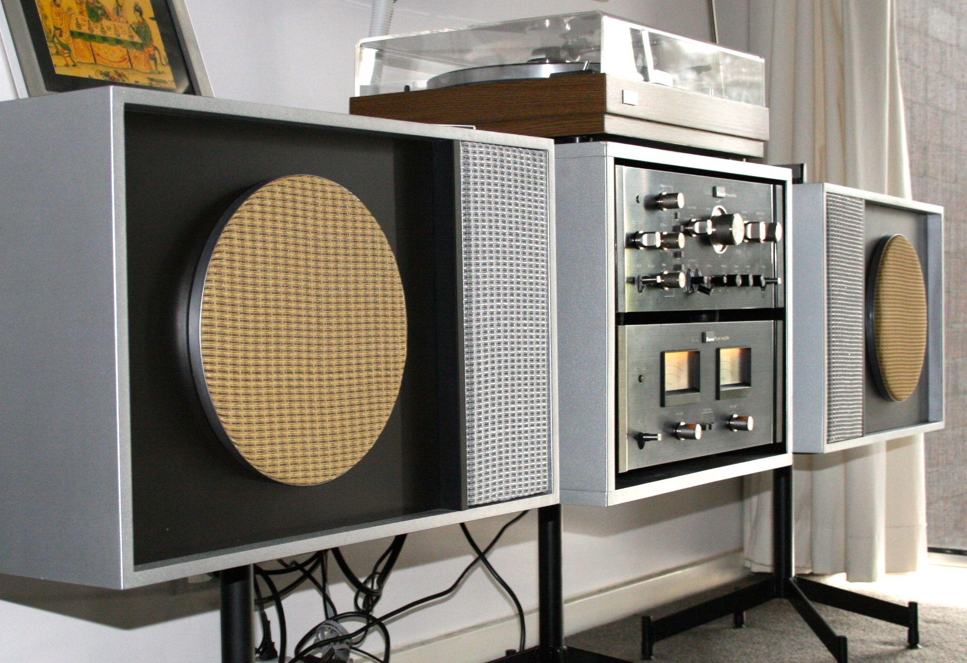 My, DIY stereo unit Sansui BA CA 2000 and FR1080 TT