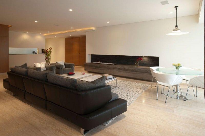 Bodenfliesen aus Travertin im Wohnzimmer Architektur Pinterest - bodenfliesen wohnzimmer modern