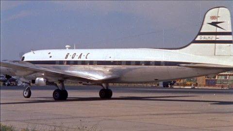 Flughafen / New York City / USA / 1955 Airline New