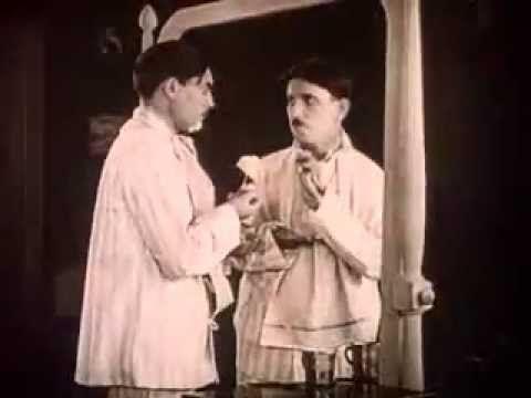 """Seven years bad luck"" (1921) - mirror scene"