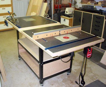 Router Kreg Jig Crosscut Assembly Table Table Saw Accessories Woodworking Projects Plans Assembly Table