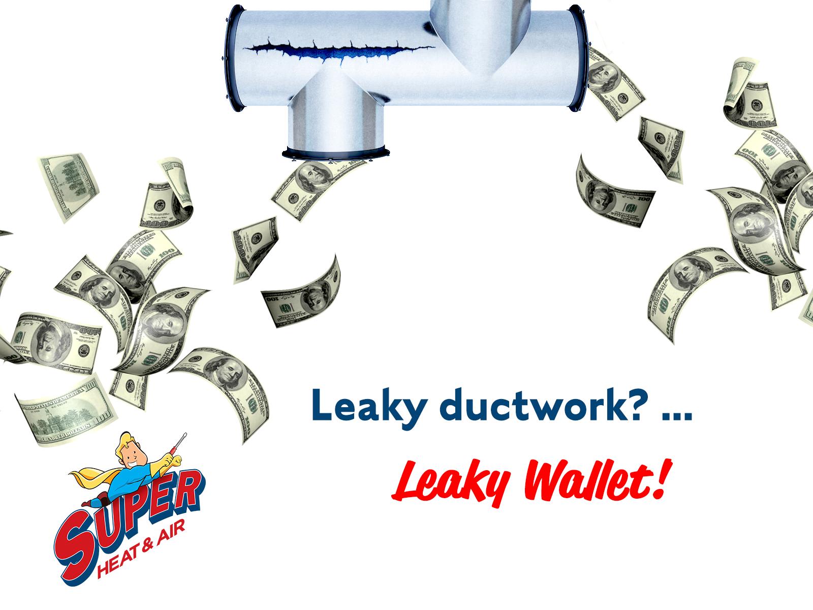 LeakyDucts LeakyWallet HVAC tampabay Ac repair