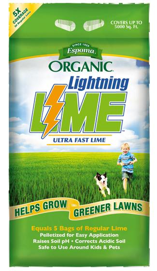 Lightning Lime Espoma Organic Lawn Care Organic Lawn Fertilizer