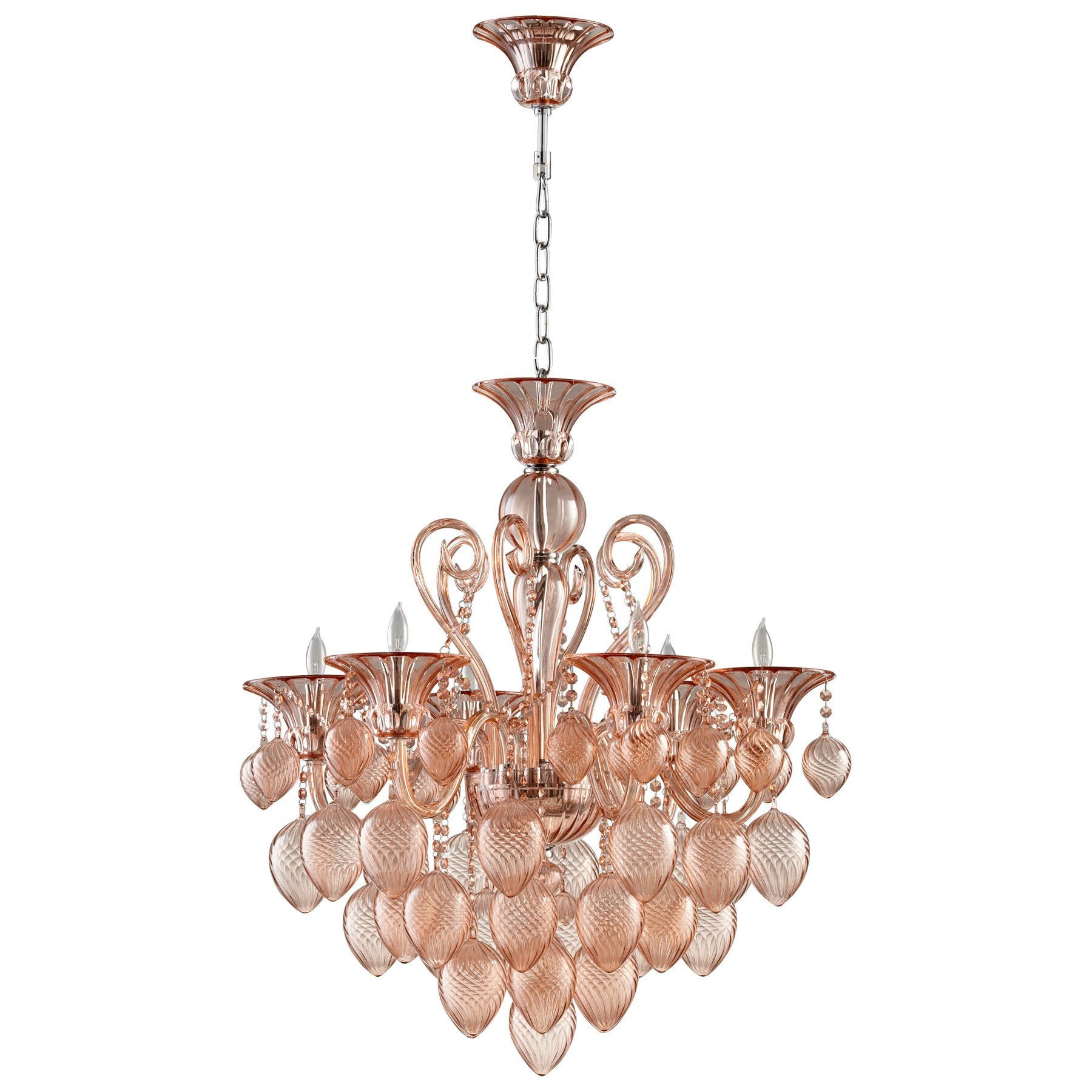 Small bella vetro chandelier hanging lights chandeliers light small bella vetro chandelier arubaitofo Images