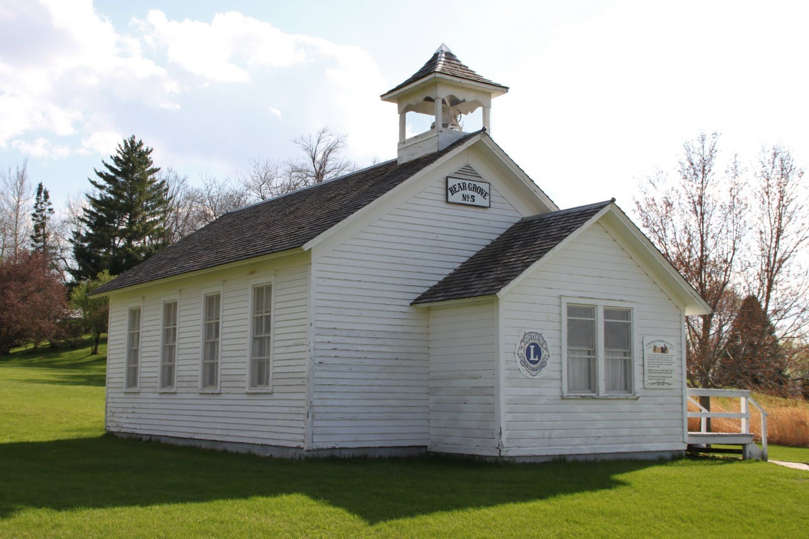might be cute to get married in the old school house