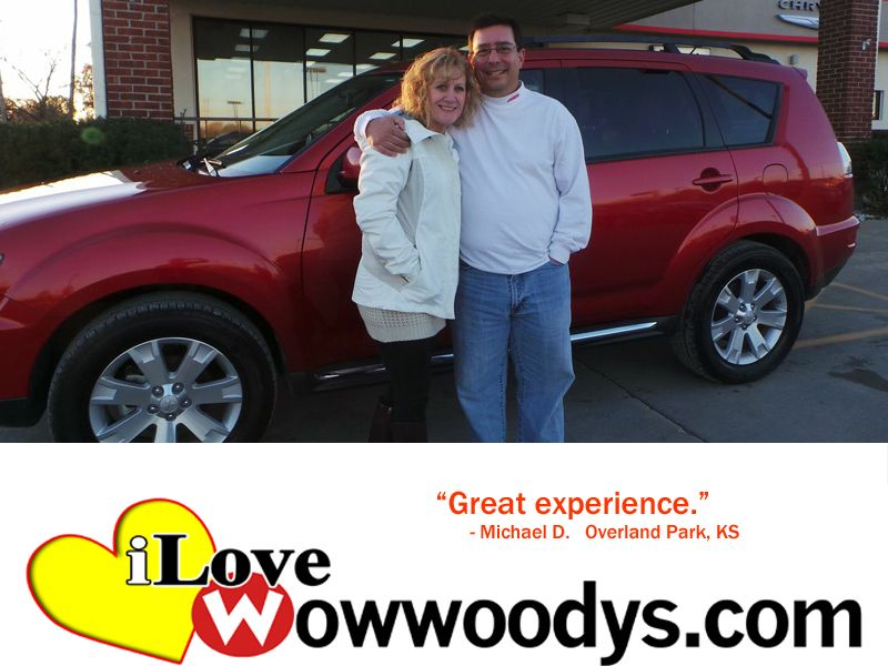 Michael Distefano From Overland Park Kansas Purchased This 2013 Mitsubishi Outlander And Wrote Great Experience Scott Is Awesome Overland Park Mitsubishi