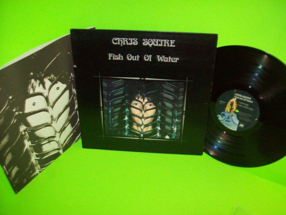 Chris Squire Fish Out Of Water Original 1975 Vinyl Lp Record Art Rock Yes Experimentalrockprogressiveartrockrocknroll