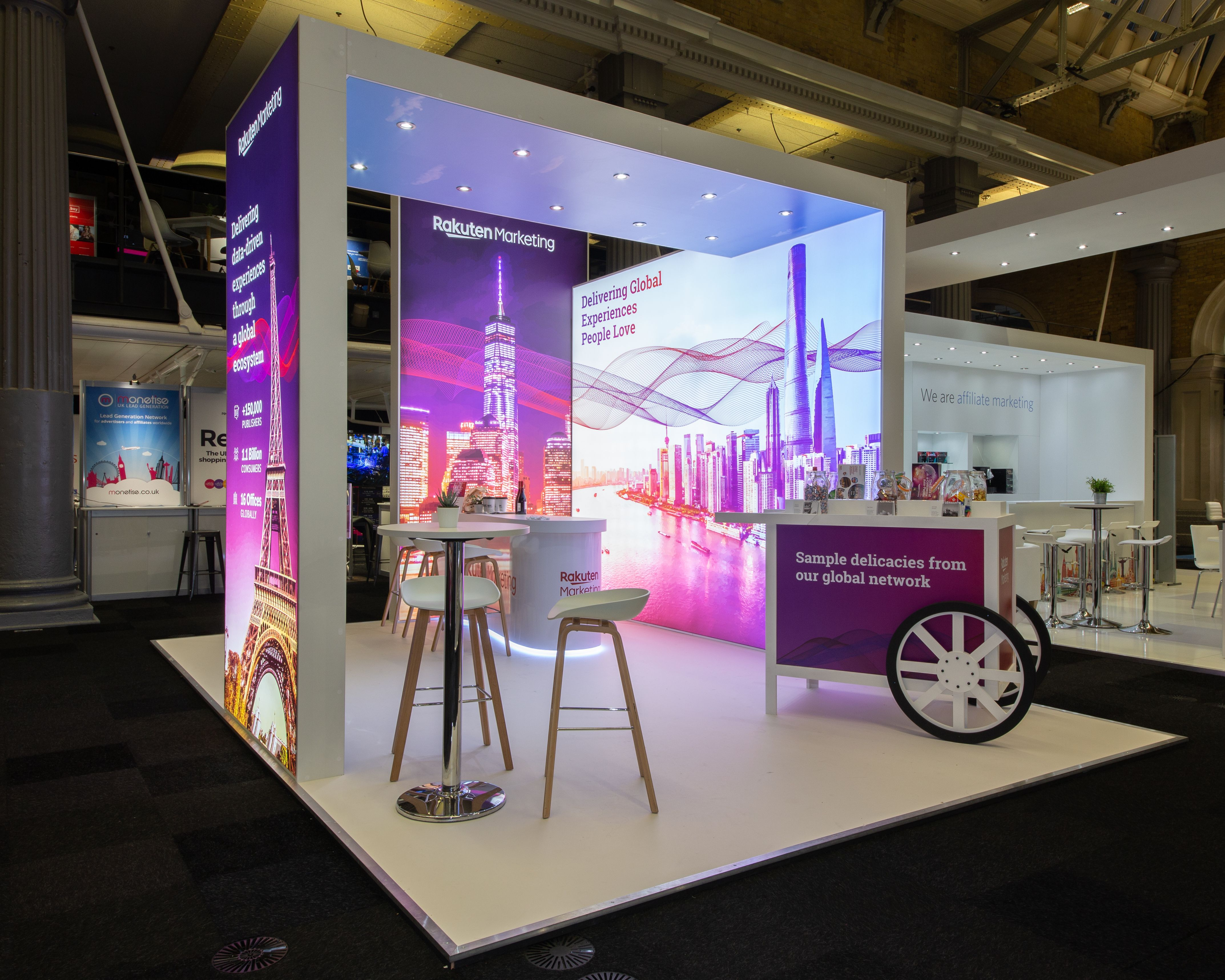 Marketing Exhibition Stand Years : How about this for a custom built exhibition stand & display? this