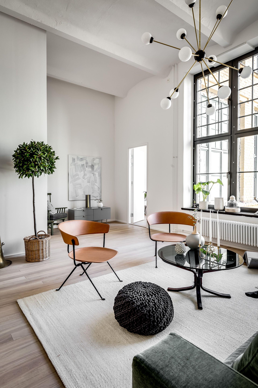 Scandinavian apartment interior in pinterest home decor