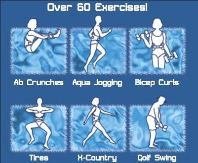 Aquajogger Exercises Swimming Workout Aqua Fitness Swimming Pool Exercises