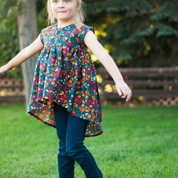 Modern Baby Doll Top | Kinderkleidung | Pinterest | Kindersachen ...