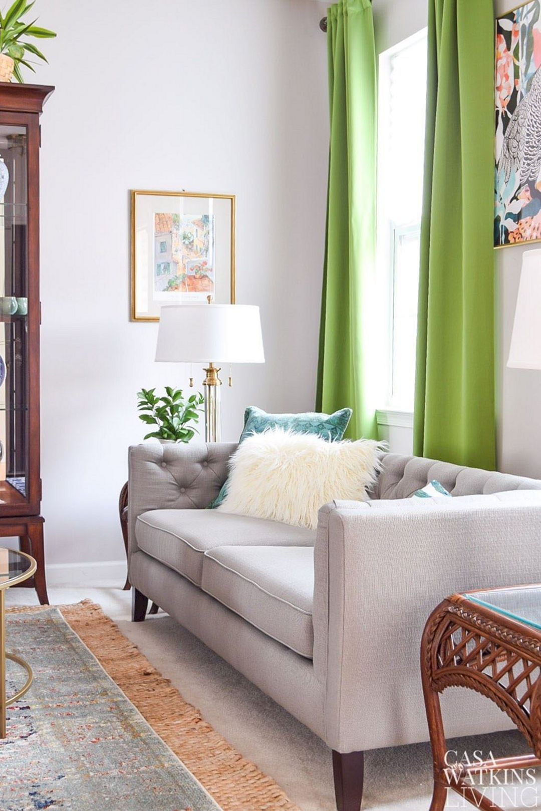 how to choose curtain color for living room