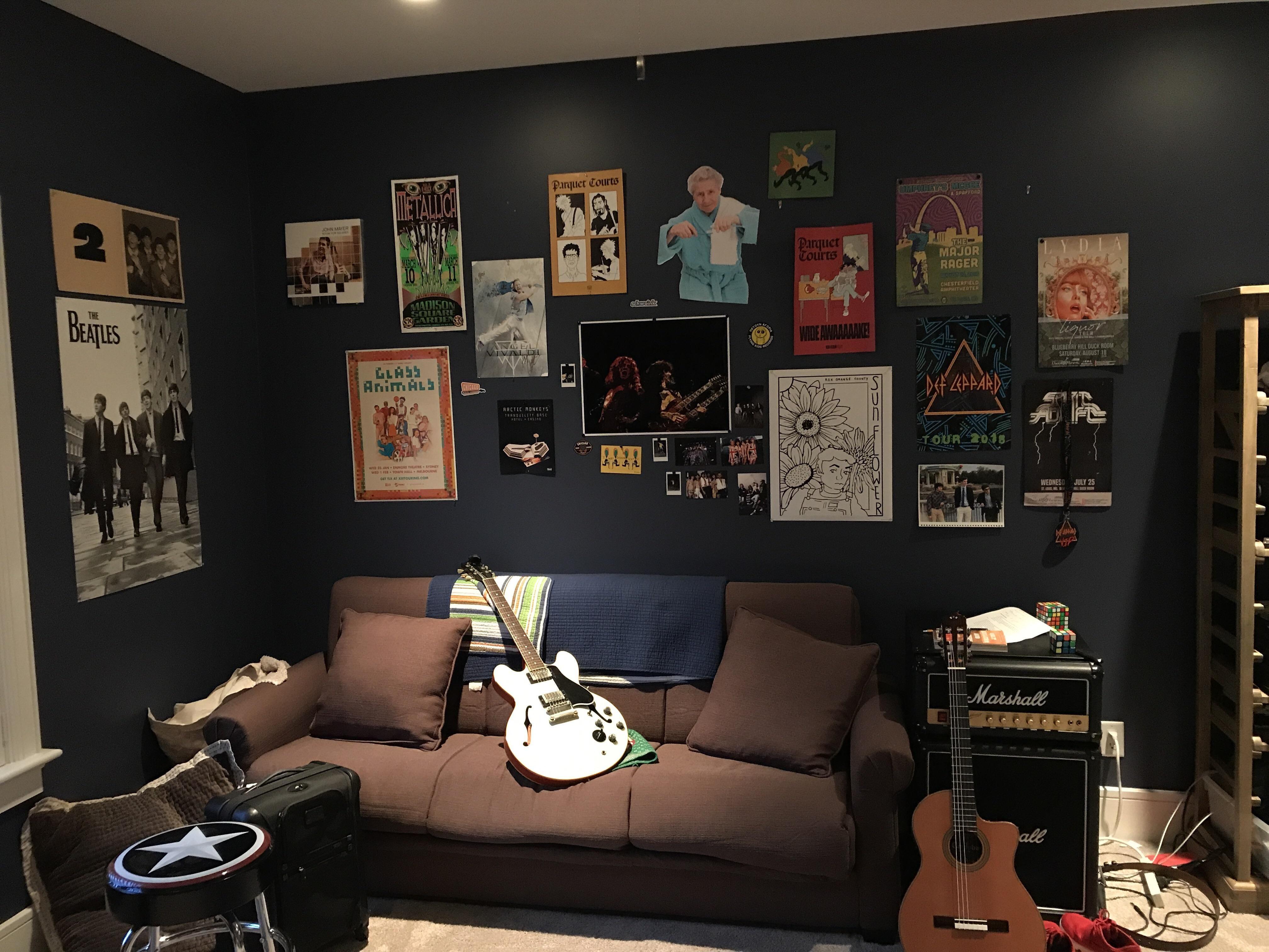 A Guy Room   Man room, Cozy bedroom design, Room ideas bedroom