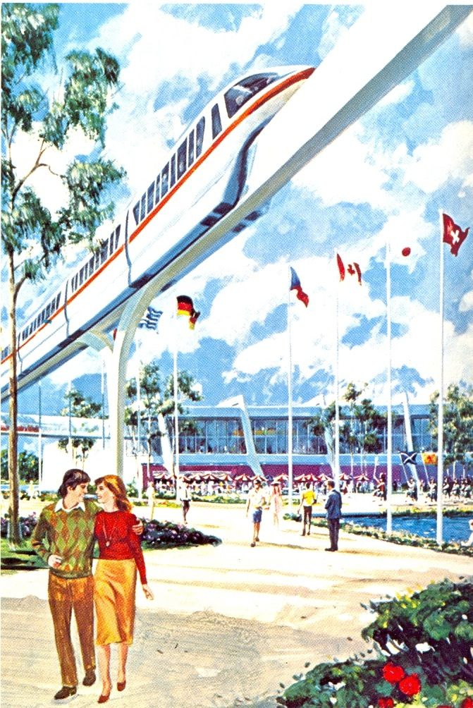 """The Explorium - Planned for a debut in 1979, The World Showcase would have not been open for nonprofit exhibition as the EPCOT Theme Center would have been. It would have also opened before the Theme Center and perhaps helped offset the cost. Encompassing an area similar in size to the Magic Kingdom, The World Showcase would have been composed of two imposing and sleek structures, semi circular in shape, facing each other to form a """"Courtyard of Nations"""", complete with flag park, theater…"""