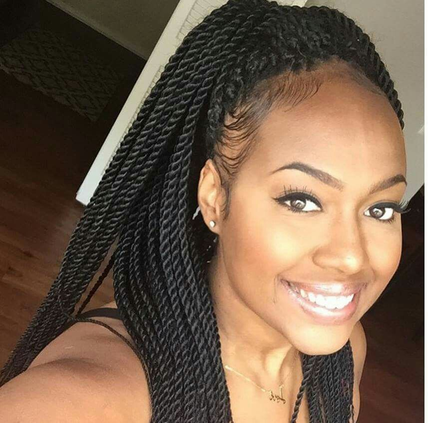 fb192bad3c4 Love these Marley twists | Hairstyles in 2019 | Hair, Hair styles ...