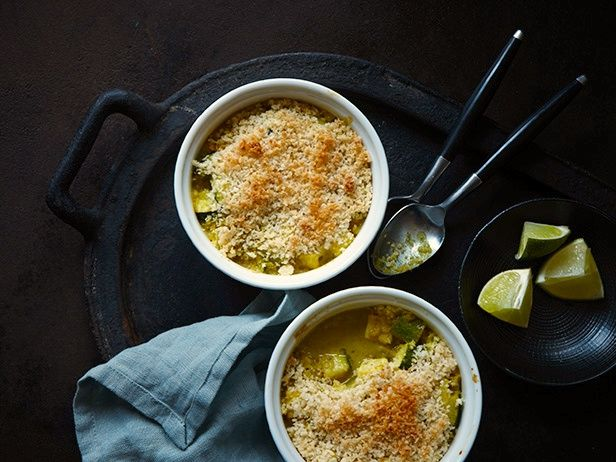 Spiced Coconut Pot Pies