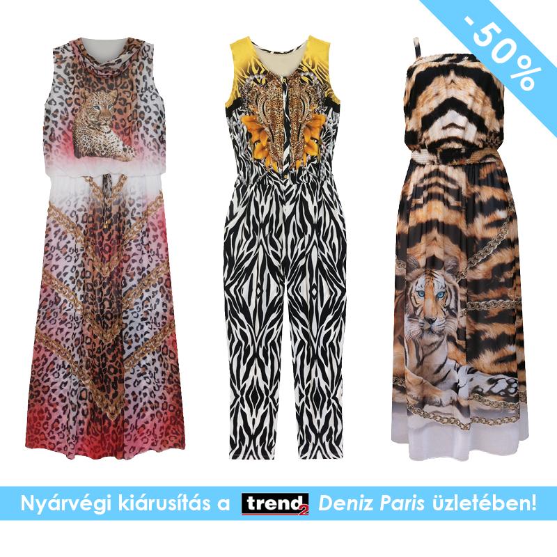 5f89d5f171 Nyárvégi kiárusítás a Trend2-ben! Akciós nyári ruhák a Deniz Paris-ban!