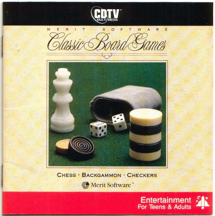 Classic Board Games CDTV