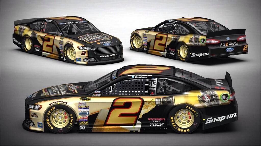 Brad Keselowski On Nascar Nascar Cars And Nascar Diecast