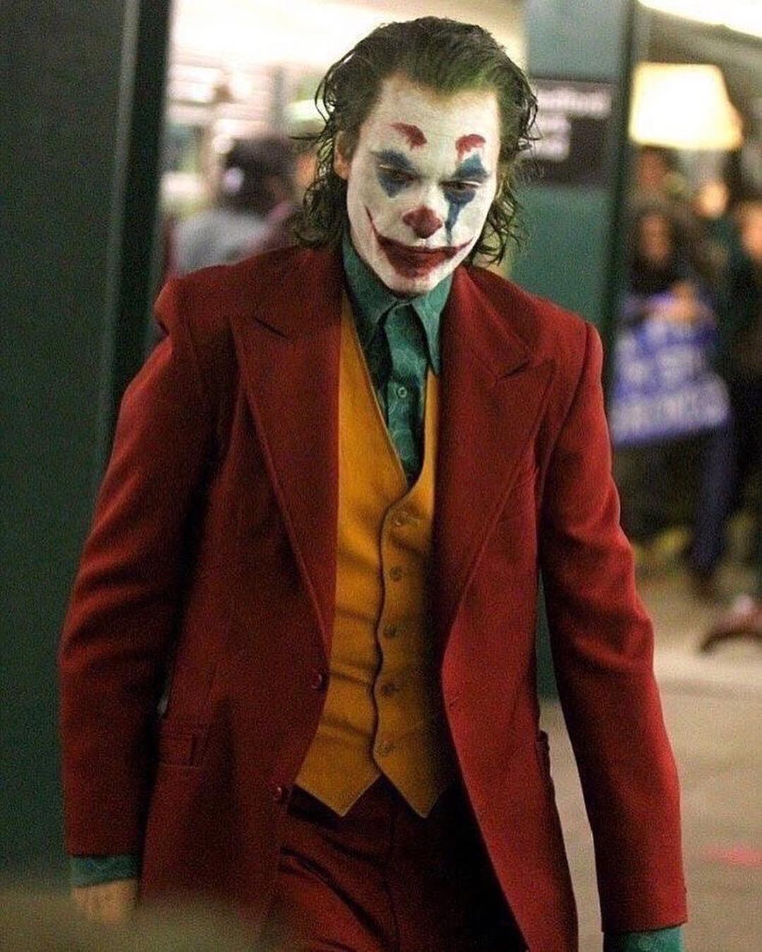 Joaquin Phoenix as Arthur Fleck/Joker In Joker (2019