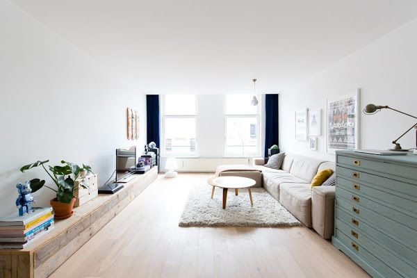 Colores suaves y madera. Una buena combinacion para un apartamento de estilo nordico   Decorar tu casa es facilisimo.com