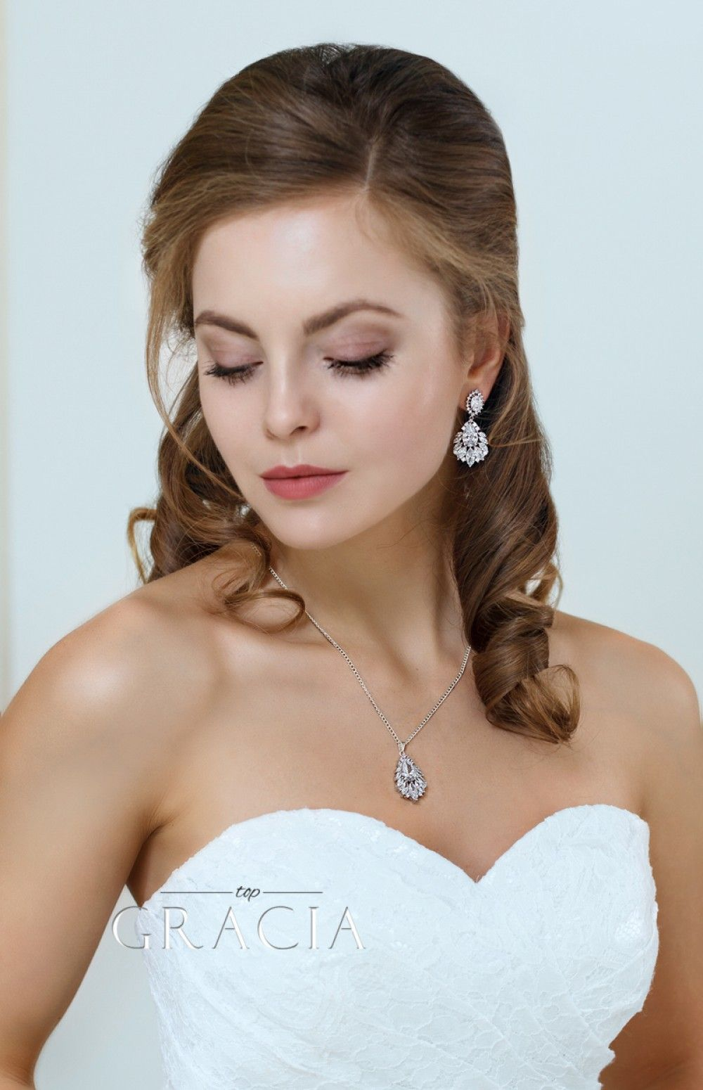 Melaina chandelier wedding dangle drop cz vintage style crystal