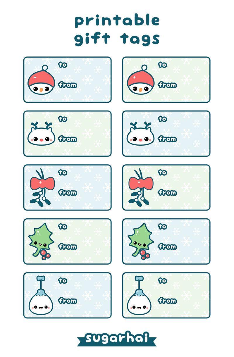 Cute free printable christmas gift tags download the hi res cute free printable christmas gift tags download the hi res version at http negle Gallery
