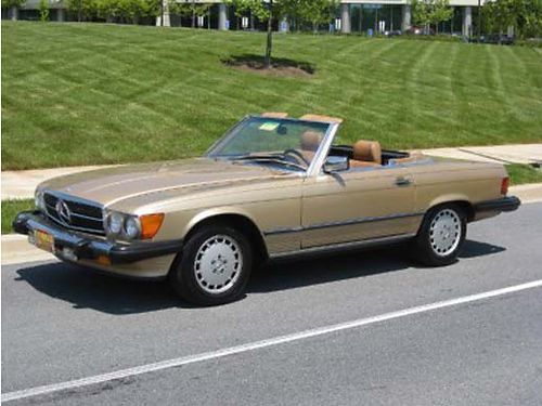 1987 MERCEDES 560SL | Kingsport TN | Mercedes benz for ...