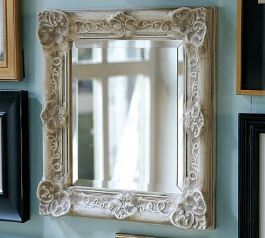 Lily Mirror For The Home Pottery Barn Golden Mirror