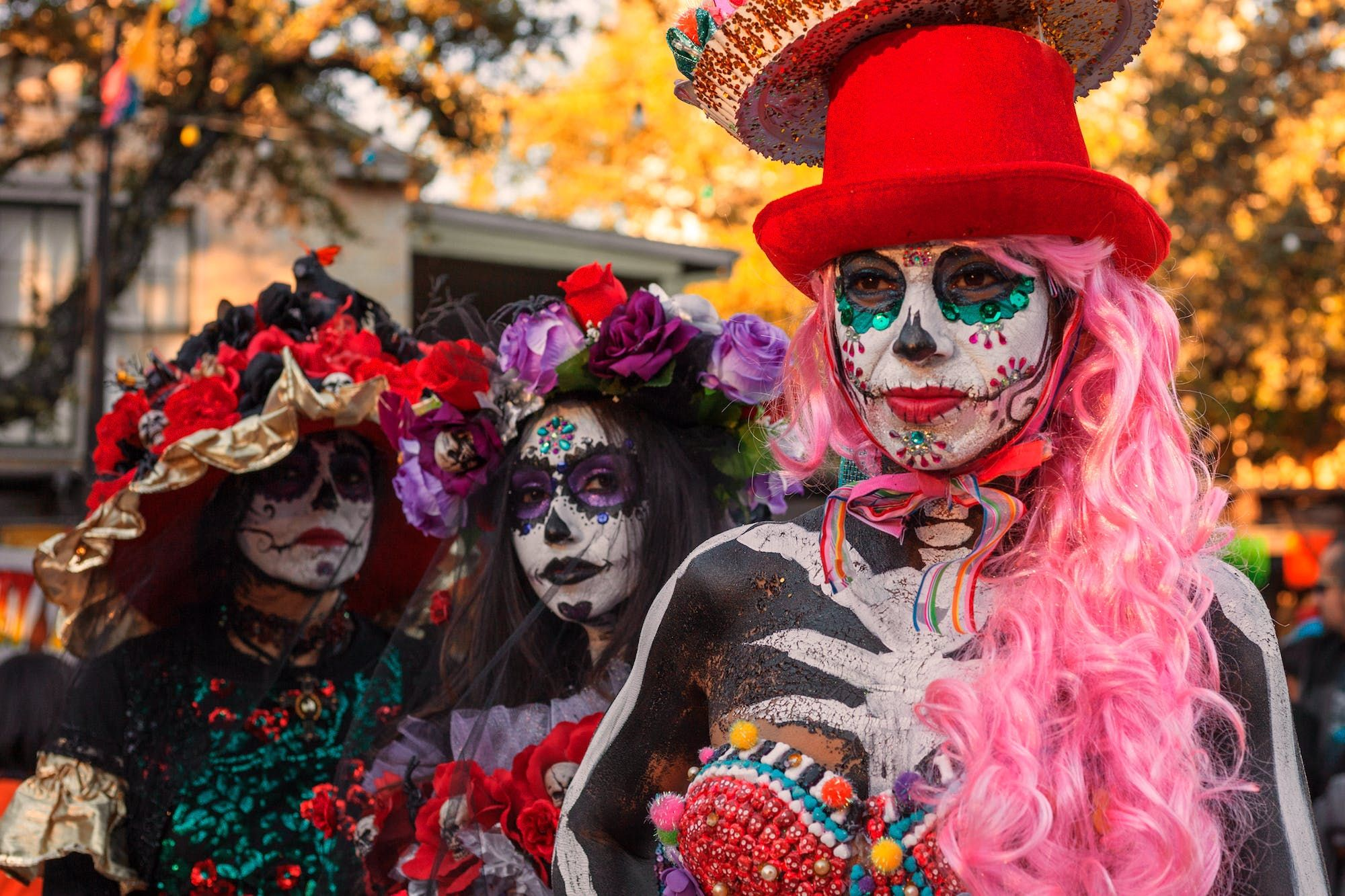 The Most Spirited Day Of The Dead Celebrations In The United States Day Of The Dead All Souls Day Dia De Los Muertos