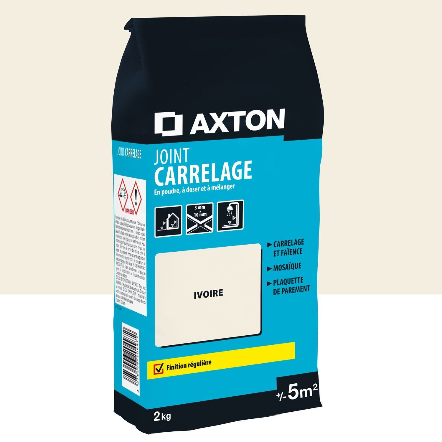Joint Poudre Axton Axton Joint Carrelage Ivoire 5m² Poudre