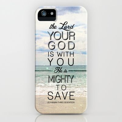Zephaniah 3:17 iPhone Case by Pocket Fuel - $35 00   Things That I LOVE