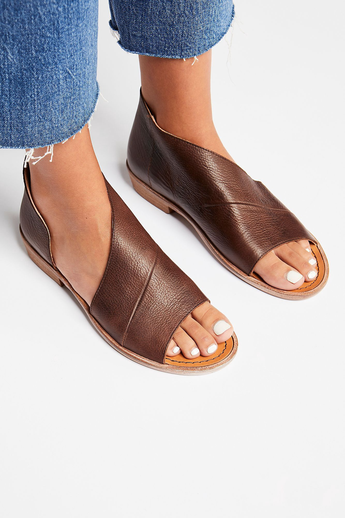 9bee1e5c8f2 Free People Mont Blanc Sandal - Chocolate 35 Euro in 2019