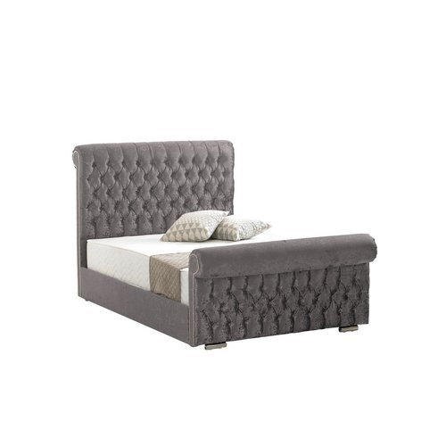 Terence Upholstered Bed Frame Willa Arlo Interiors Colour Crush