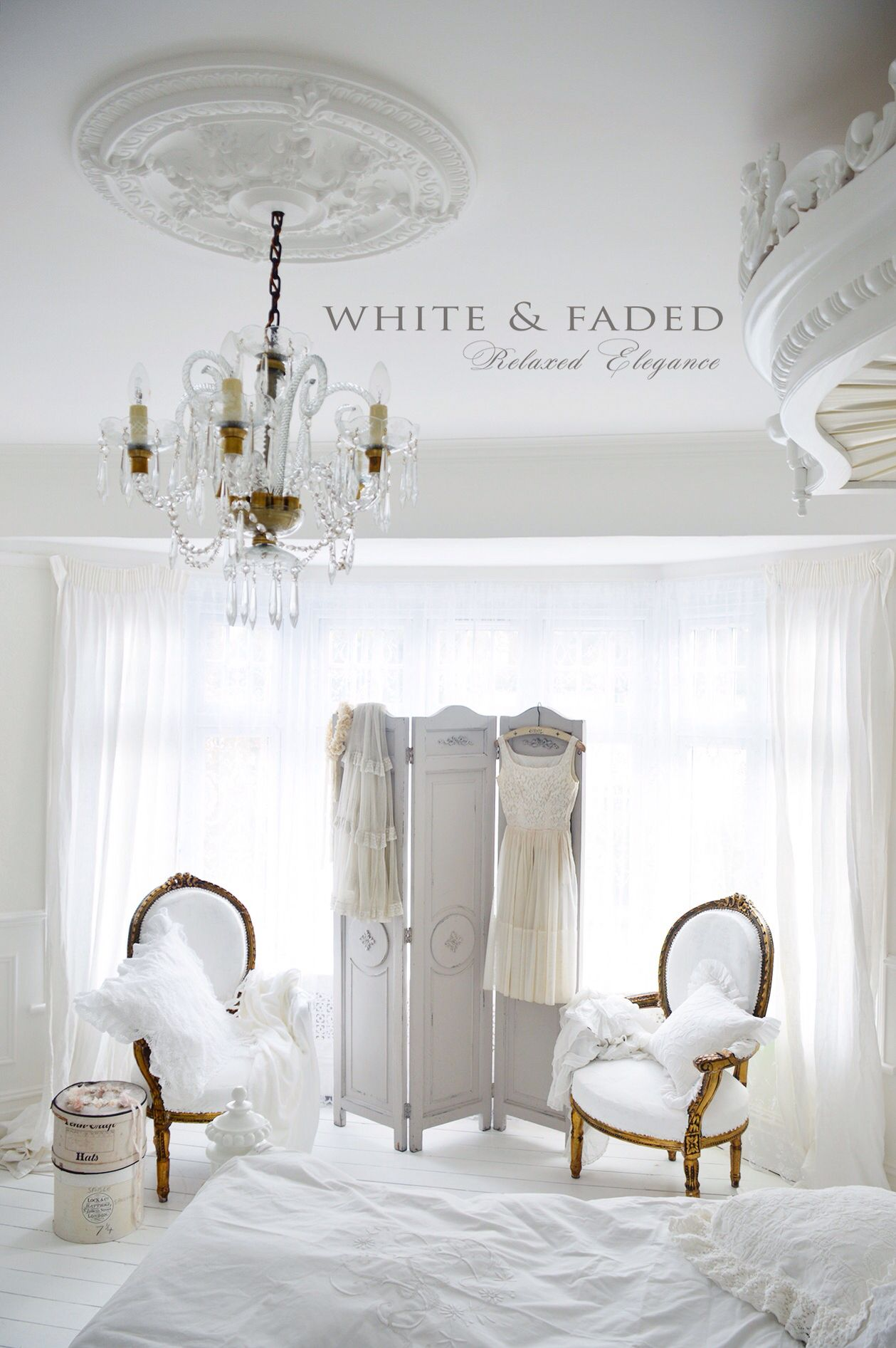 White French Bedroom I Like The Way I Feel When I Look At This