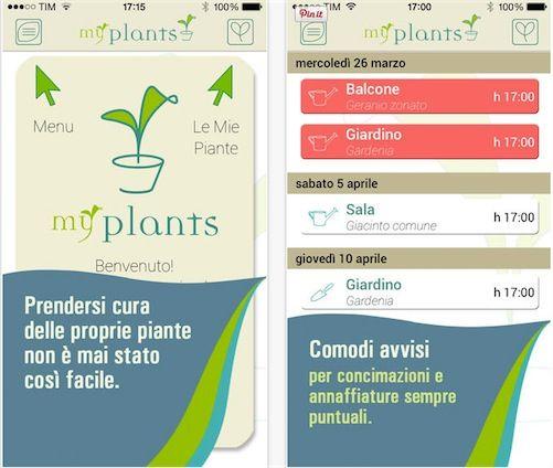 myPlants-App-Store