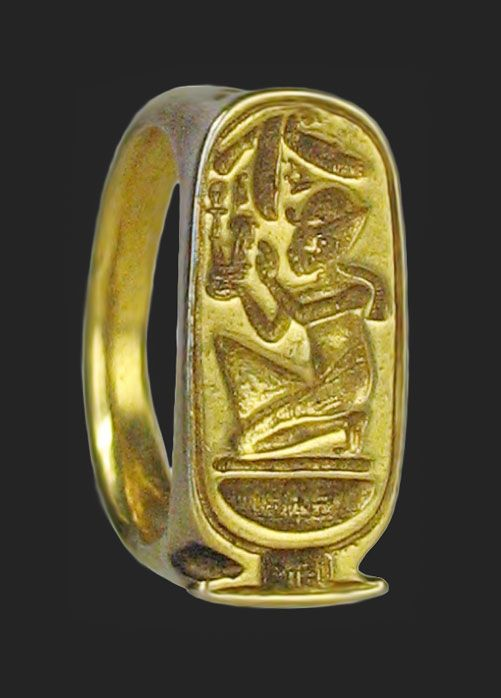 Ancient Egyptian 22kt gold ring | Egyptian Clothes/Jewelry ...