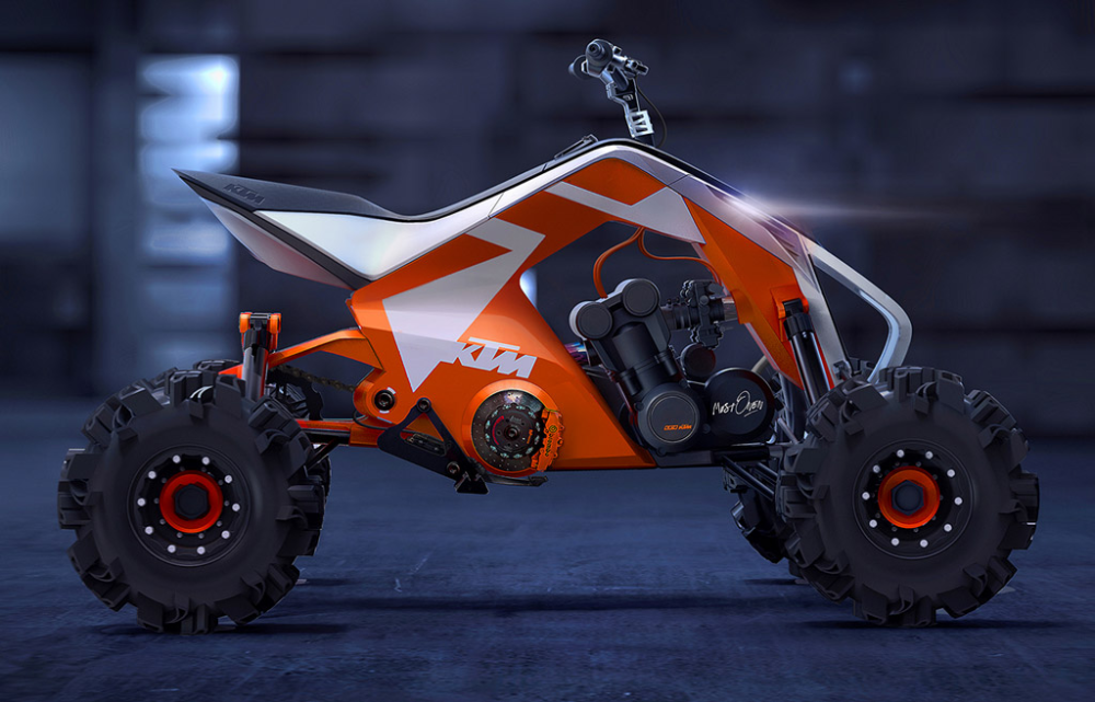 IS KTM LOOKING AT THE ATV MARKET AGAIN? in 2020