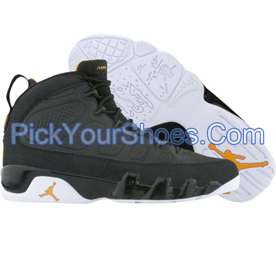on sale 81c72 ca046 Air Jordan 9 IX Retro (black   citrus   white) 302359-004 -  84.99