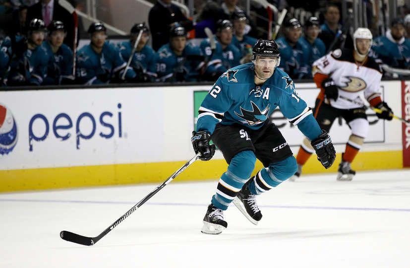 San Jose Sharks forward Patrick Marleau (Oct. 5, 2016).