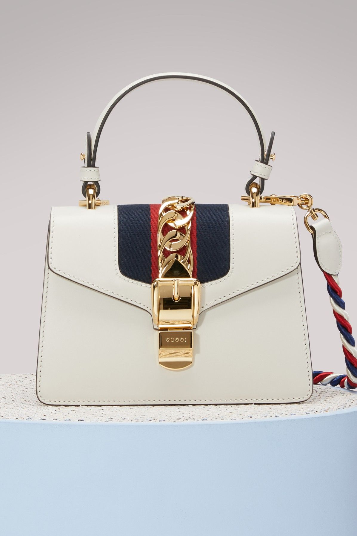 4e23b8826b52 GUCCI SYLVIE LEATHER MINI BAG. #gucci #bags #shoulder bags #hand bags # leather #