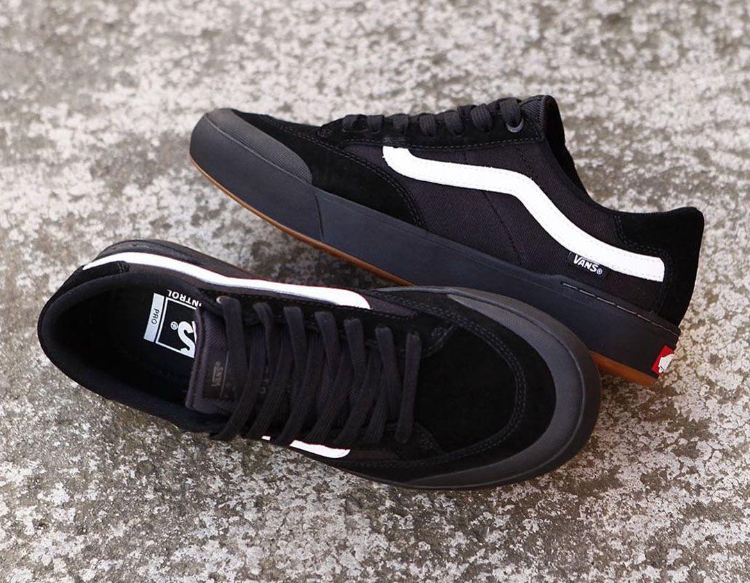 Vans Berle Pro Black Black White ???????? www.popname.cz | Vans shoes ...