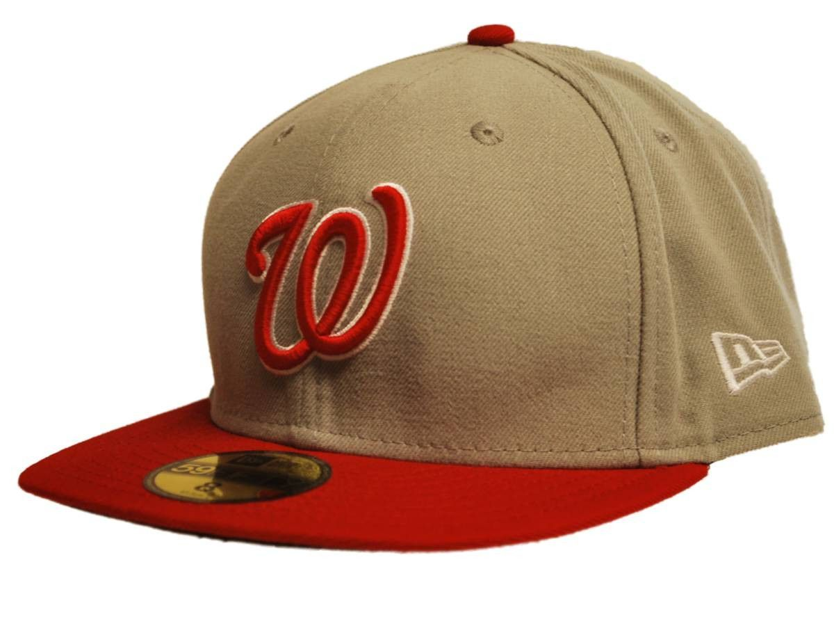 huge selection of d8f2a adc30 where to buy washington nationals new era 59fifty gray red wool fitted hat  cap 8 63.5